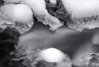 Ice Forms, Chicago Creek, Colorado 2014