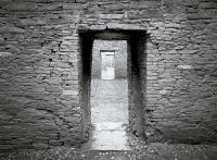 Doorway, Pueblo Bonito, Chaco Canyon, New Mexico 2006