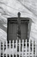 Church Door, Canyoncito, New Mexico, 2014