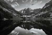 Twilight, Maroon Bells, Colorado 2011